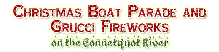 Connetquot River Christmas Boat Parade and Fireworks